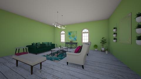 Tropical Paradse - Glamour - Living room - by 19thomast