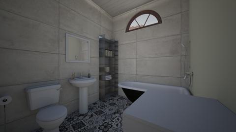 cottage bathroom - Bathroom - by linguaivisionSC