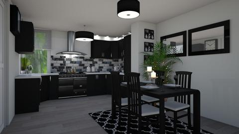 Irish Apartment Dining - Kitchen - by creato