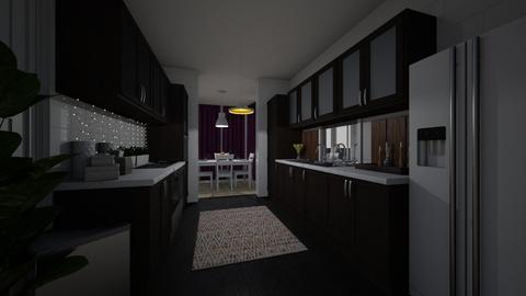 Paul_1 - Minimal - Kitchen - by interiorfury69