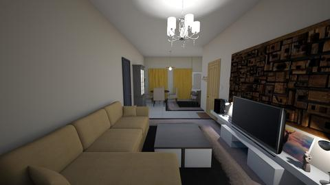 HOME5 - Living room - by dskipitaris