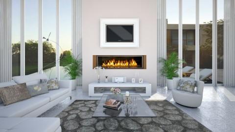 g - Modern - Living room - by Saharasaraharas