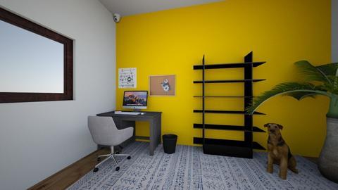 Tiny Office - Modern - Office - by evo2112loki