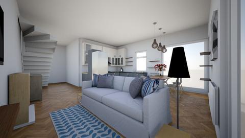 Salon kuchnia - Living room - by Steefy