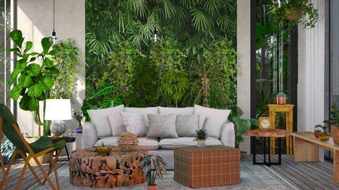 Jungle LivingB - by jasmin_jasmin