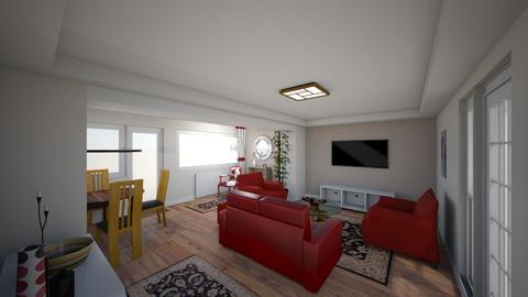 Main_WIP - Modern - Living room - by uselessdesigner