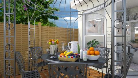 Garden template_Breakfast - Garden - by Laurika