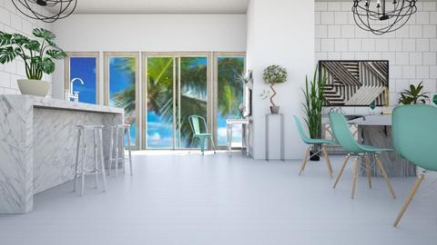 Minimal Beachy - Minimal - Kitchen - by LeilaniD04