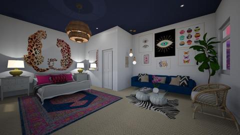 boho bedroom - by Alice Connor