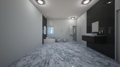 No Longer Blue Bathroom - Rustic - Bathroom - by JaidenLegg