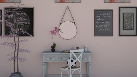 daisys desk - Global - Office - by NEVERQUITDESIGNIT