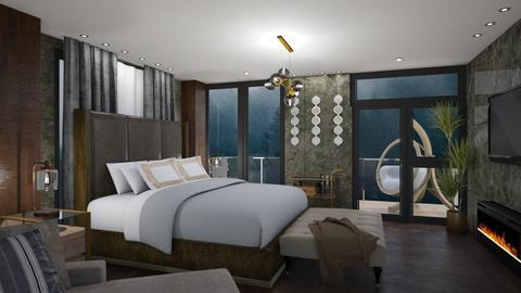 earth - Masculine - Bedroom - by MissREZA
