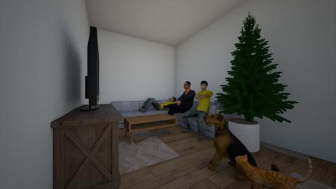 SOS - Living room - by asanvein