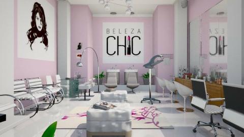 SALAO DE BELEZA - Feminine - Office - by Cassiane Pires