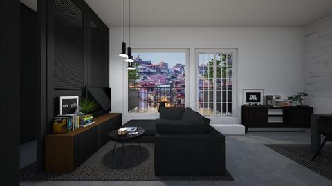 Casa331LivingArea - Modern - Living room - by nickynunes