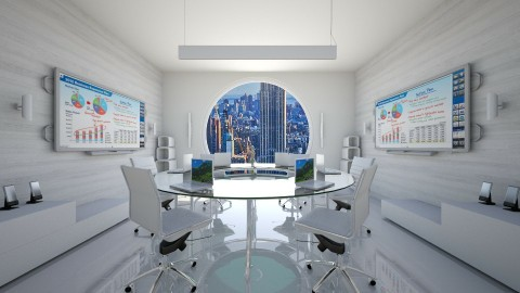 Simple_clever - Modern - Office - by xrhstos