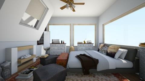 hm - Eclectic - Bedroom - by LAS95