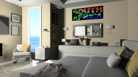 Yoore South African - Minimal - Bedroom - by Nhezi