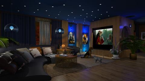 TV Room - by marocco