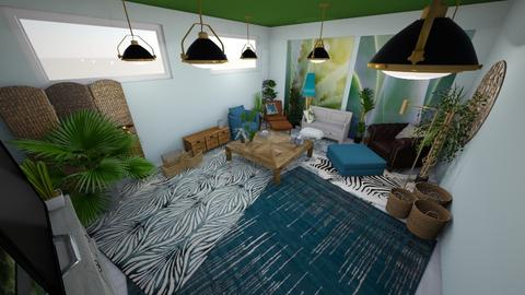 Green living - Eclectic - Living room - by llaurenpie