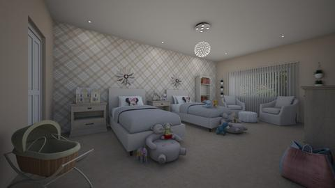 TwinDreams Daisy de Arias - Kids room - by Daisy de Arias