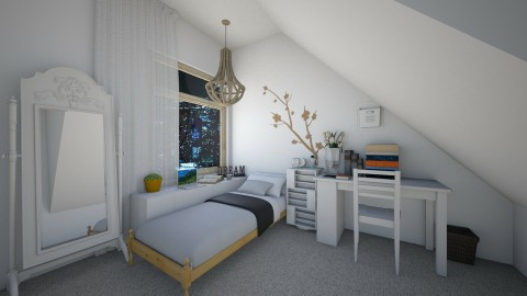Random - Bedroom - by Aliiix