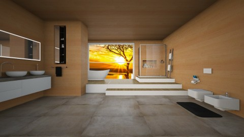Bathroom - Modern - Bathroom - by mariateresadrago