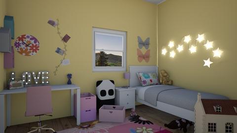 Pre Teen Girl - Kids room - by miah