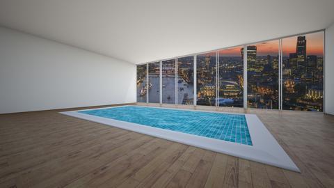urban evening swim - Minimal - by SueandEs
