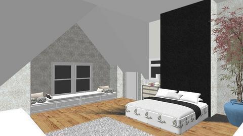 attic - Bedroom - by kiki123807
