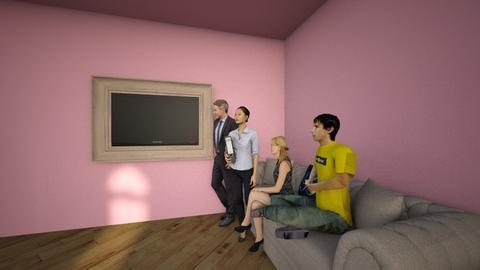 Heartlake cityJiang hous - Modern - Living room - by ejiang388