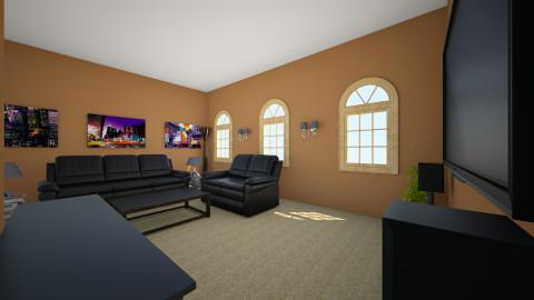 A Sunday Morning - Masculine - Living room - by morganlynn