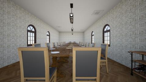 Dinning room - by nikitah23