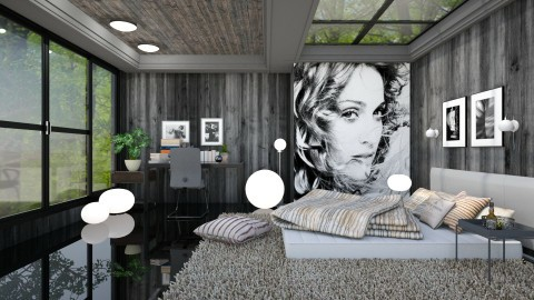 on the floor  - Modern - Bedroom - by Ida Dzanovic