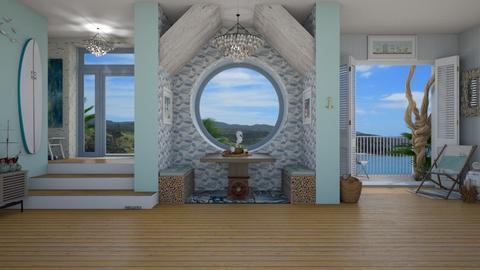 Nautical - Living room - by Nicky West