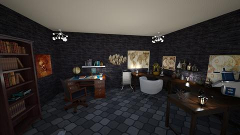 study - Office - by seiberte