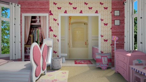 Little Butterfly - Kids room - by steph01mami