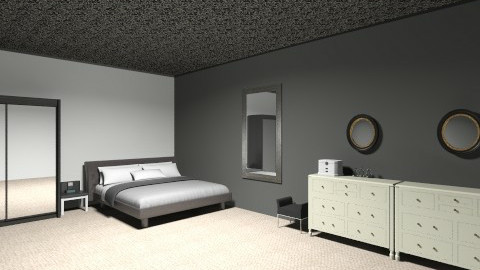 black comfort - Bedroom - by call_me_cupcake_cx