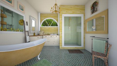 creamsA - Vintage - Bathroom - by donella