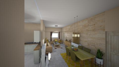 nas domcek - Living room - by kristinabaranova