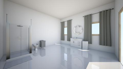 Downstairs Bathroom - Glamour - Bathroom - by mariavagi