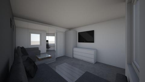 Adrian room - Bedroom - by Amelia Tomaszewicz