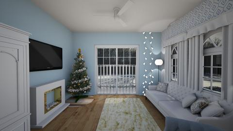 Christmas living room 384 - by brontevankesteren