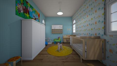 baby room - by mali savir