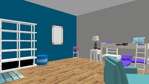 Dorm Life - Modern - by Isabella719