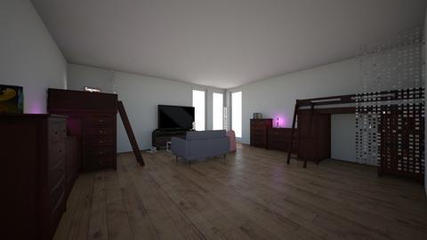dorm - Bedroom - by Natasha Romanoff
