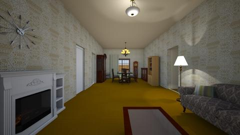 Family Home LR - Living room - by WestVirginiaRebel