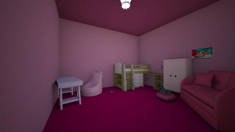 Everything Pink - Kids room - by gem27
