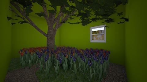Garden in the house - Garden - by WolfRat