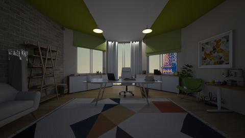 office in the paris - by cuneyt oznur